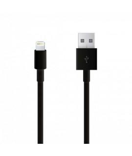 Câble USB LIGHTNING noir pour Iphone 8