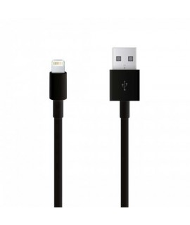 Câble USB LIGHTNING noir pour Iphone 8 plus