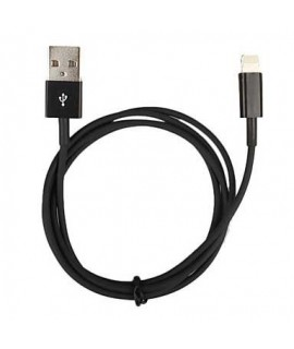 Câble USB LIGHTNING noir pour Iphone X