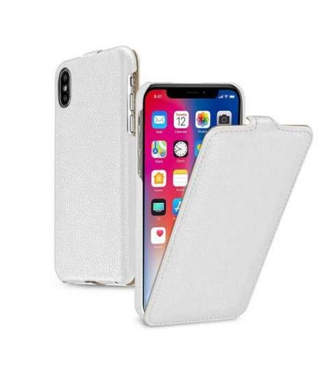 coque iphone x clapet cuir
