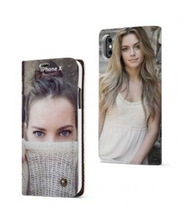 Etuis Cuir PERSONNALISES iphone X (ten)
