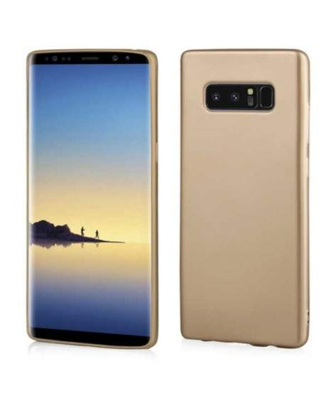 Coque SILICONE OR Samsung Note 8