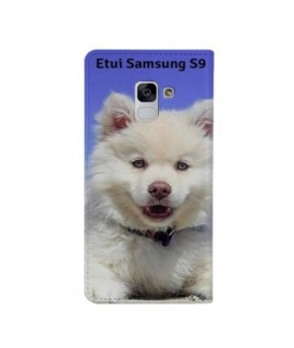 Etuis Cuir PERSONNALISES pour Samsung Galaxy S9