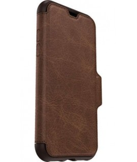 Etui marron OTTERBOX STRADA SERIE iPhone X