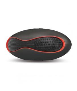 Enceinte bluetooth haut-parleur SETTY - Noir / Rouge