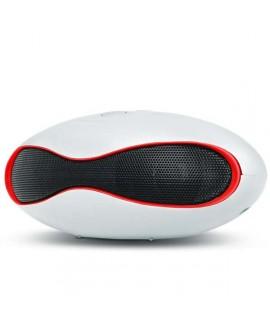 Enceinte bluetooth haut-parleur SETTY - Blanc / Rouge
