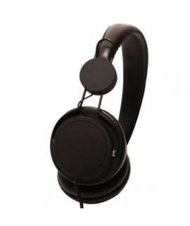 Casque Stereo noir ULTRA LEGER avec micro
