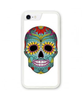 Coque souple MEXICAN SKULL iPhone 8