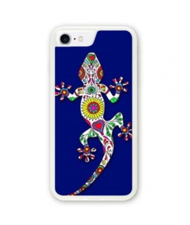Coque souple SALAMANDRE BLEUE iPhone 8+
