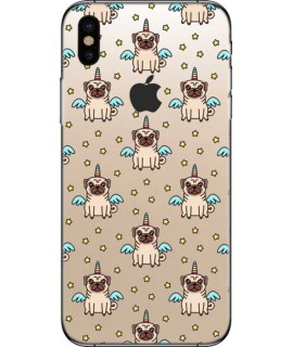 Coque silicone LITTLE DOG pour iPhone X