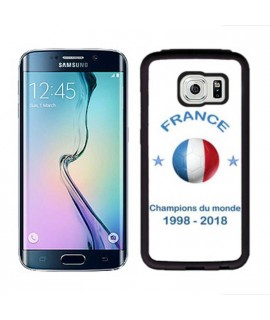 Coque COUPE DU MONDE en gel SAMSUNG GALAXY S6 EDGE+