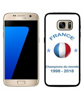 Coque COUPE DU MONDE en gel SAMSUNG GALAXY S7 EDGE