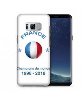 Coque COUPE DU MONDE en gel SAMSUNG GALAXY S8+