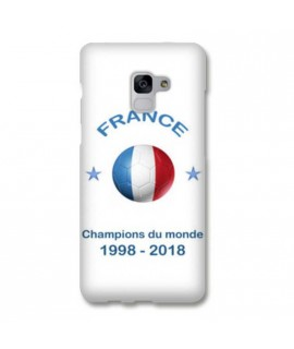 Coque COUPE DU MONDE en gel SAMSUNG GALAXY S9+
