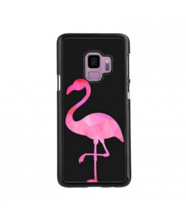 Coque FLAMANT ROSE 1 en gel SAMSUNG GALAXY S9