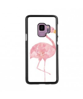 Coque FLAMANT ROSE 2 en gel SAMSUNG GALAXY S9