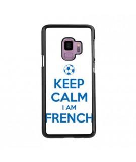 Coque KEEP CALM IM FRENCH en gel SAMSUNG GALAXY S9+