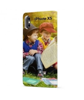 Etuis Cuir PERSONNALISES iphone Xs