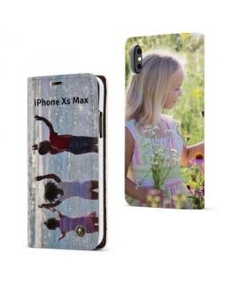 Etui rabattable RECTO VERSO personnalisé iPhone Xs Max