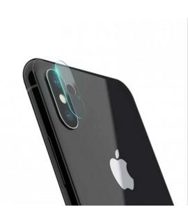 Protection lentille en verre trempé iphone X