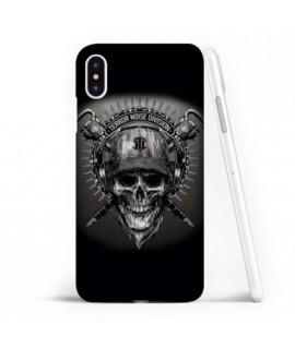 Coque souple ARMY SKULL en gel iPhone X
