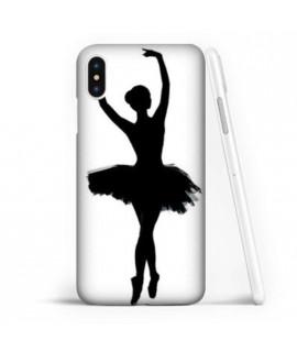 Coque souple DANSEUSE en gel iPhone X