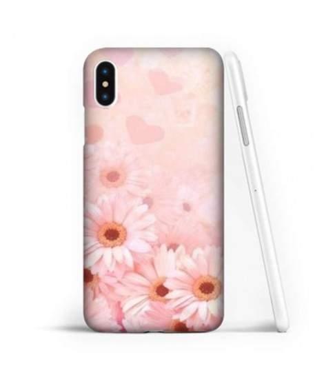 Coque souple MARGUERITE en gel iPhone X