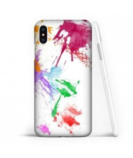 Coque souple PAINTING en gel iPhone X