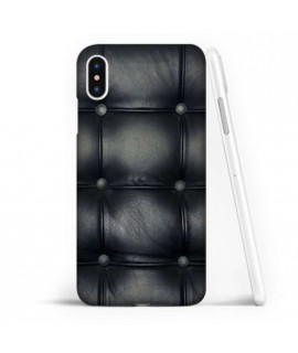 Coque souple ALL BLACK en gel iPhone XS
