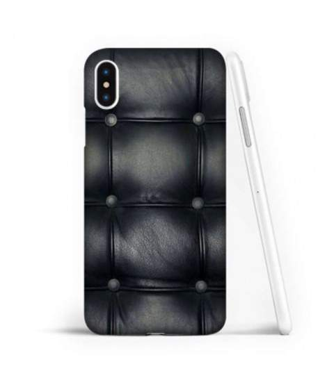 Coque souple ALL BLACK en gel iPhone XS