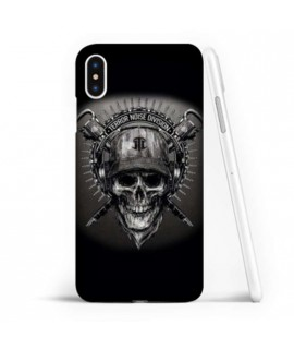 Coque souple ARMY SKULL en gel iPhone XS