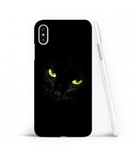 Coque souple BLACK CAT en gel iPhone XS