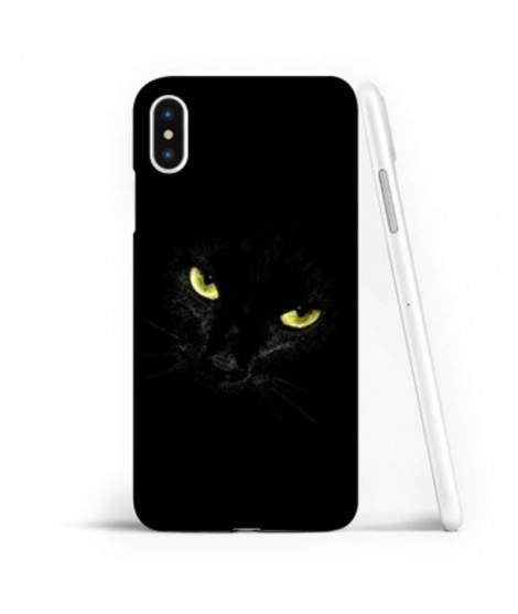 Coque souple BLACK CAT en gel iPhone XR