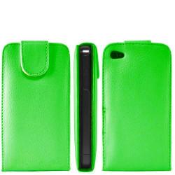 Etui cuir vert pour Iphone 4 et 4S