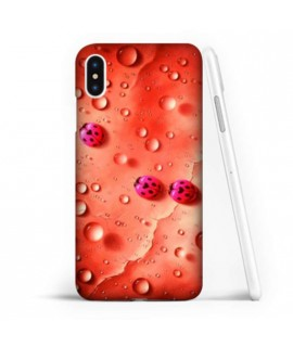 Coque souple COCCINELLE 3 en gel iPhone XS