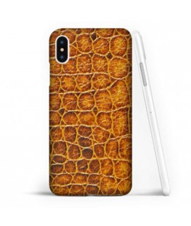 Coque souple CROCO en gel iPhone XS