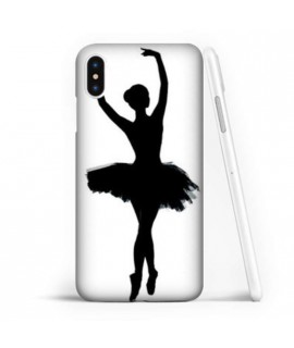 Coque souple DANSEUSE en gel iPhone XS