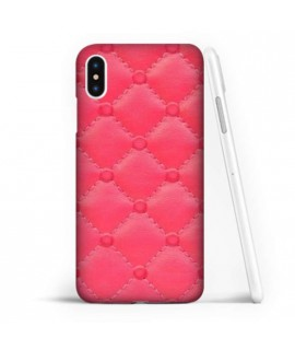 Coque souple FOND PINK en gel iPhone XS