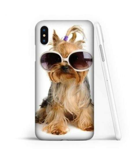 Coque souple FUNNY DOG en gel iPhone XS MAX
