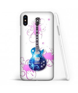 Coque souple GUITAR 4 en gel iPhone XS MAX