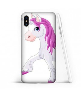 Coque souple LICORNE 2 en gel iPhone XS MAX