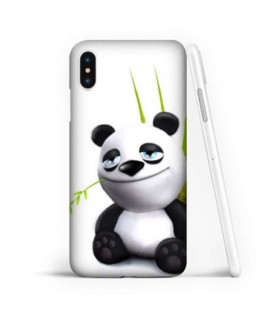 Coque souple PANDA 3 en gel iPhone XS MAX