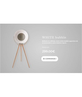 Enceinte EUPHO E3 beige portable et sans fil de la marque UB+