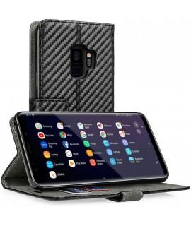 Etui CARBON noir Samsung S9