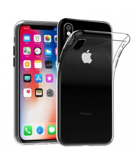 Coque TRANSPARENTE souple en gel iPhone XS MAX
