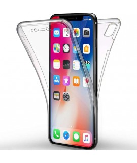 Coque 360 integrale en gel iPhone X/XS