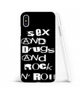 Coque souple ROCK N ROLL en gel iPhone XS