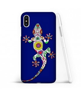 Coque souple SALAMANDRE BLEUE en gel iPhone XS MAX