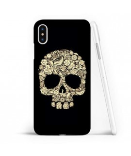 Coque souple SKULL FUN 4 en gel iPhone XS MAX