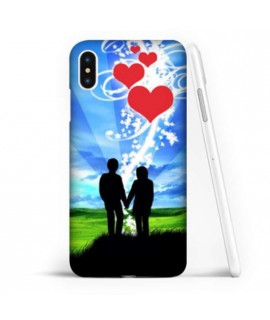 Coque souple YOU AND ME en gel iPhone XS MAX